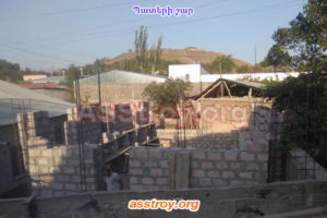 Տան պատերի շար